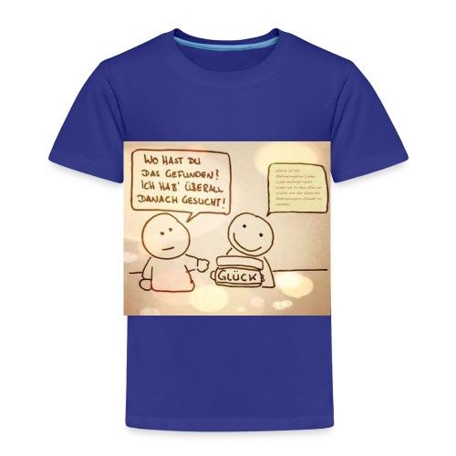 Glueck ist die Bedingungslose Liebe - Kinder Premium T-Shirt