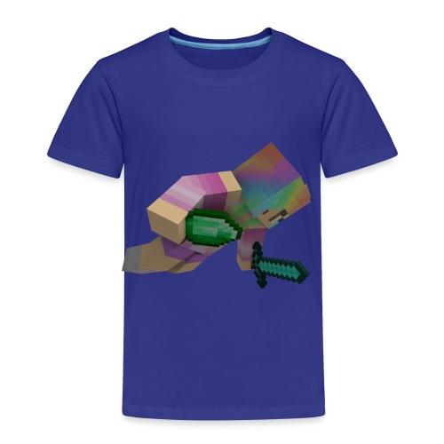 fallande bubblav - Premium-T-shirt barn