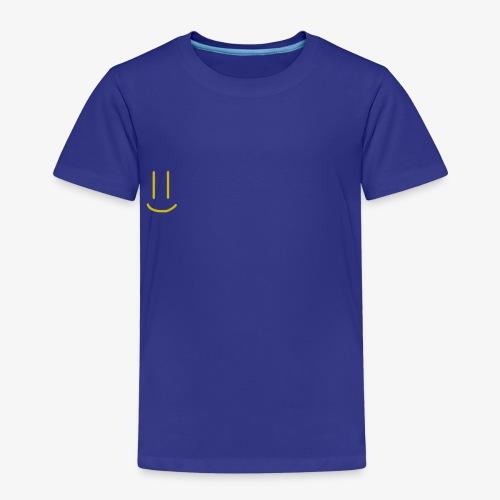 Gold Smiley Face - Kids' Premium T-Shirt