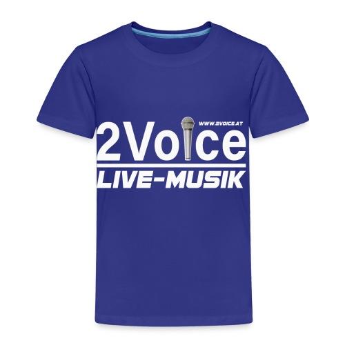 2VOICE Live Musik - Kinder Premium T-Shirt