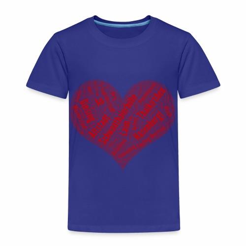 Muenchen Stadtteile Herz - Kinder Premium T-Shirt