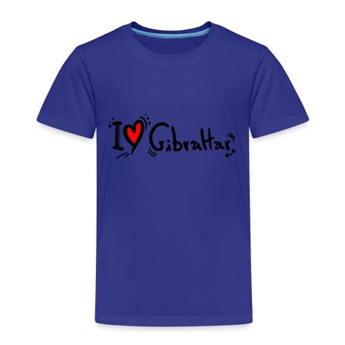 I Love Gibraltar - Kids' Premium T-Shirt