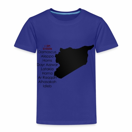 i am syrian - Kinder Premium T-Shirt