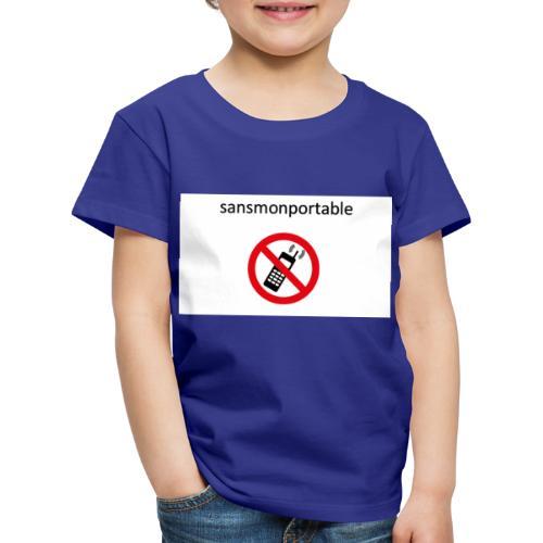 Sans mon portable n°1 - T-shirt Premium Enfant
