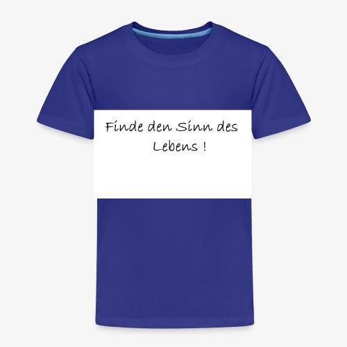 Sinn des Lebens - Kinder Premium T-Shirt
