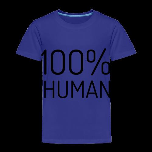 100% Human - Kinderen Premium T-shirt