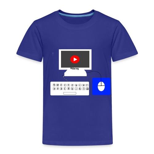 pc mit maus und tastertur by Fabio__HD - Kinder Premium T-Shirt