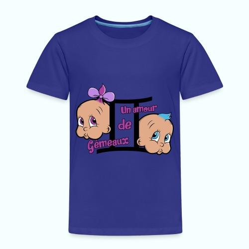 Un Amour de Gémeaux - T-shirt Premium Enfant