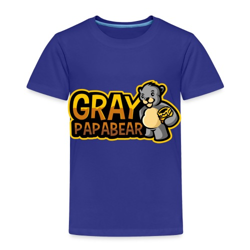GrayPapaBear - Kinder Premium T-Shirt
