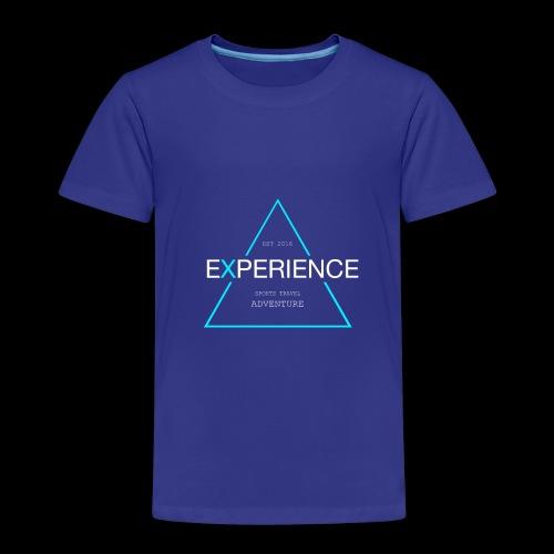 Experiene sports,travel adventure - Børne premium T-shirt