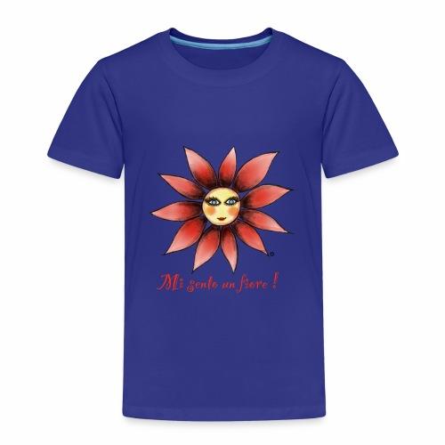MI SENTO UN FIORE - Maglietta Premium per bambini