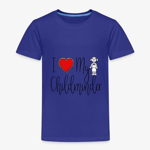 I Love My Childminder - Kids' Premium T-Shirt