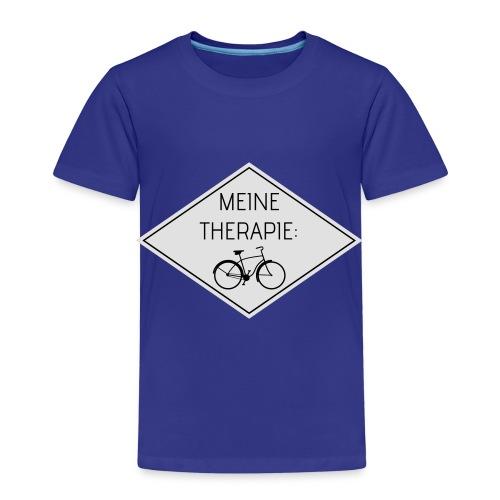 Meine Therapie: Fahrrad (WHITE) - Kinder Premium T-Shirt