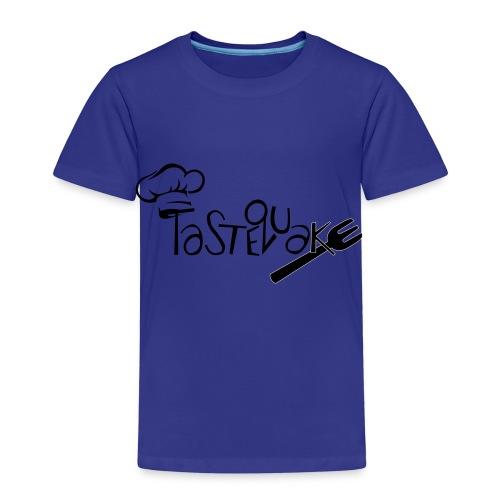 TasteQuake Logo - Kinder Premium T-Shirt