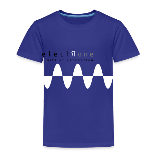 Limits of Perception – Electrone - Kinder Premium T-Shirt