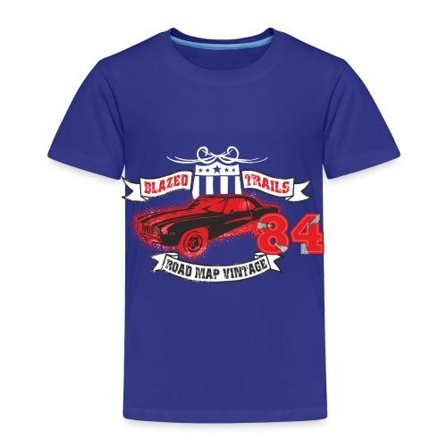 Road map vintage - Camiseta premium niño
