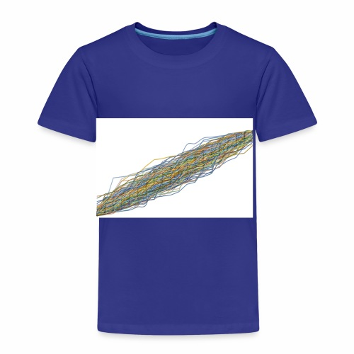 Line Chart - Kinderen Premium T-shirt