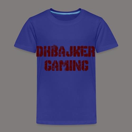 dhbajker gaming - Kinder Premium T-Shirt