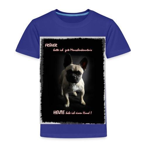 hunde sind die besten - Kinder Premium T-Shirt