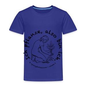 ICH PFLANZE - Kids' Premium T-Shirt