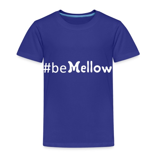 be mellow / hashtag bemellow - weiß - Kinder Premium T-Shirt