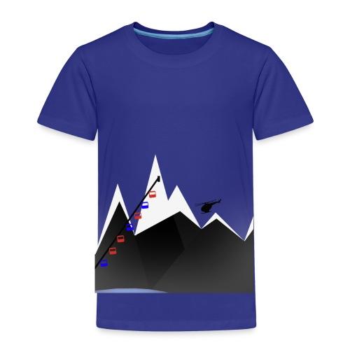 MOUNTAINS | WINTER KOLLEKTION - Kinder Premium T-Shirt