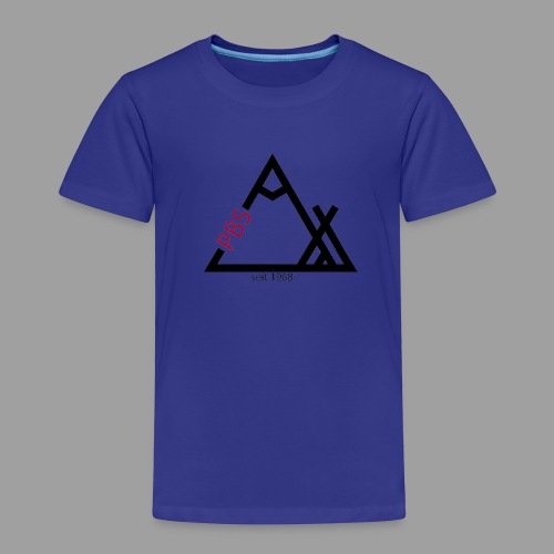 PBS Logo Groß - Kinder Premium T-Shirt