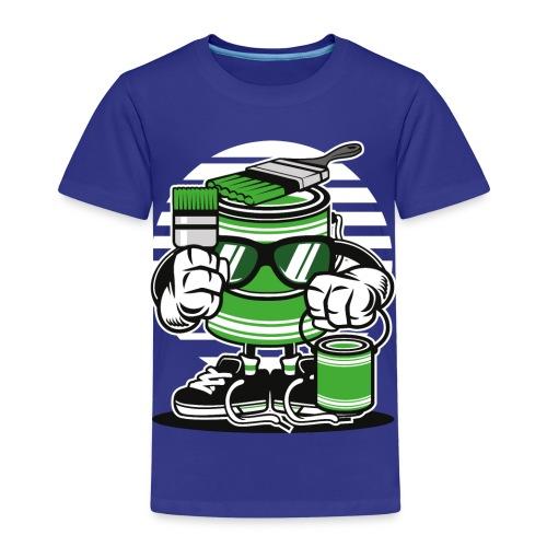 Let s Paint - Kinder Premium T-Shirt