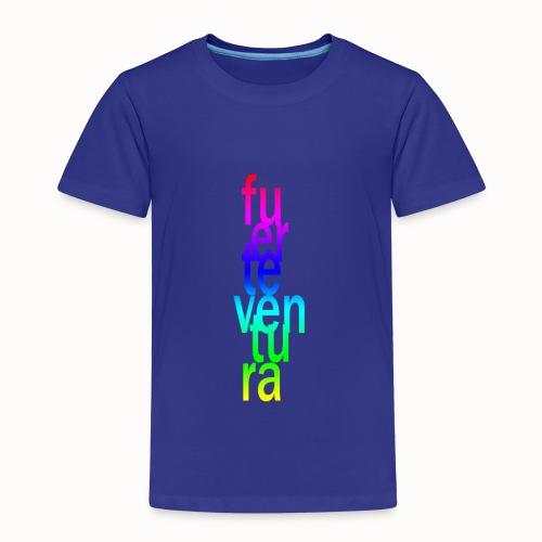 Fuerteventura Schriftzug, bunt - Kinder Premium T-Shirt