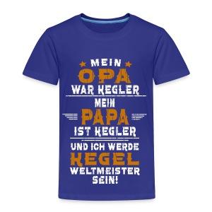 OPA PAPA kegeln - Kinder Premium T-Shirt