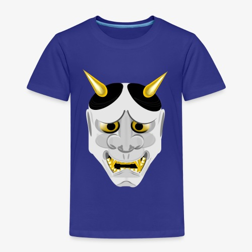 Demon Mask White - Kids' Premium T-Shirt