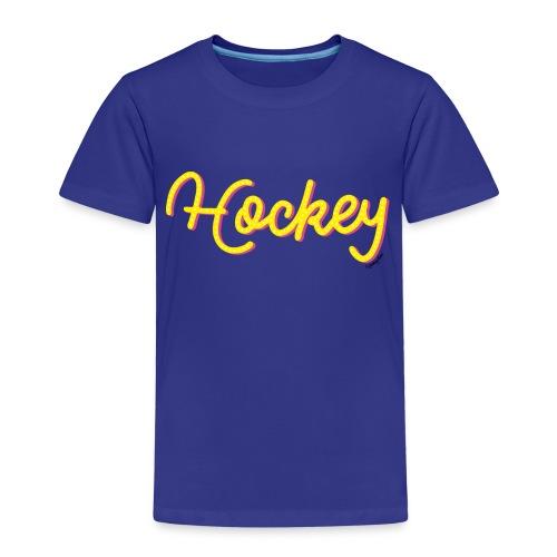 Hockeytier ::: HockeyType - Kinder Premium T-Shirt