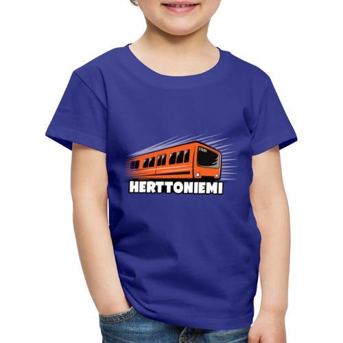 09-HERTTONIEMI METRO - Itä-Helsinki - Lasten premium t-paita