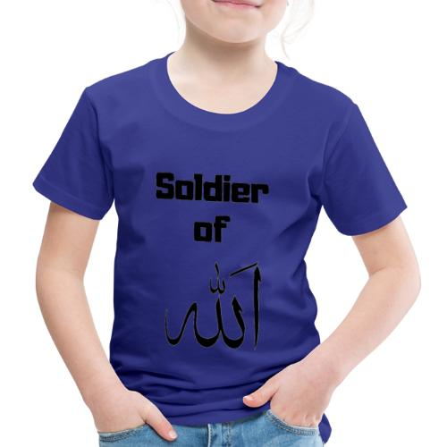 soldier of Allah - Kids' Premium T-Shirt