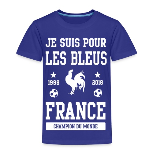 Champion du monde France 2018 - Kinderen Premium T-shirt