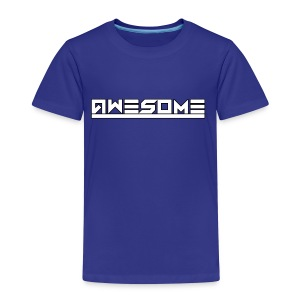 Awesome (White) - Kids' Premium T-Shirt