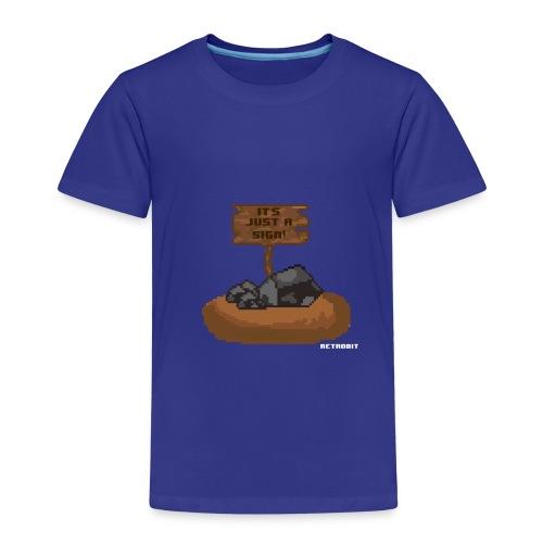 The sign - Kinder Premium T-Shirt