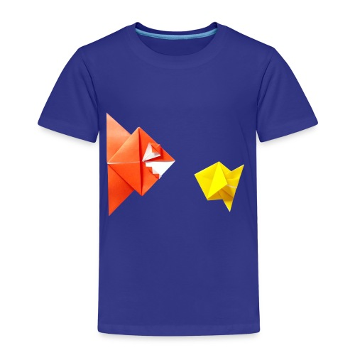 Origami Piranha and Fish - Fish - Pesce - Peixe - Kids' Premium T-Shirt