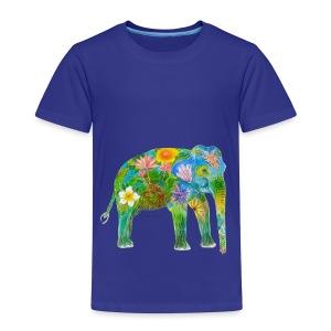 Asiatischer Elefant - Kinder Premium T-Shirt