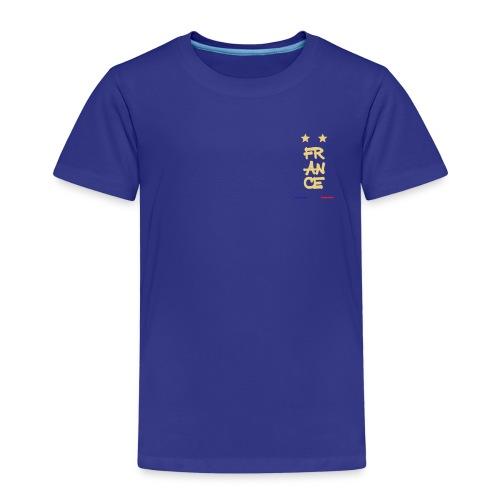 Champion du monde 1998 - 2018 macaron doré france - T-shirt Premium Enfant