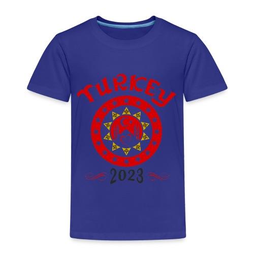 Tuerkei 2023 cp - Kinder Premium T-Shirt