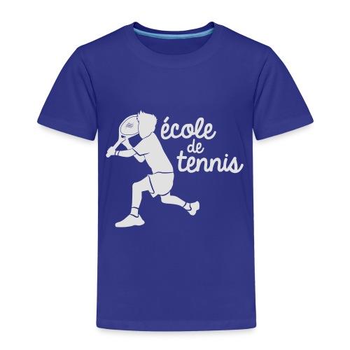 ECOLE DE TENNIS - T-shirt Premium Enfant