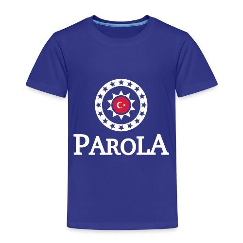 Parola Logo plane - black - Kinder Premium T-Shirt