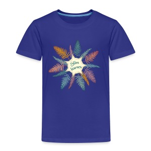 slim leaves - Kids' Premium T-Shirt