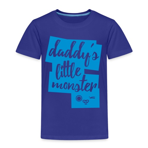 Daddys Little Monster - Kinder Premium T-Shirt