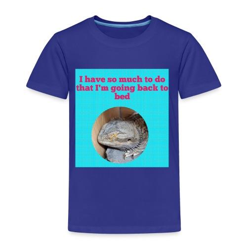 The sleeping dragon - Kids' Premium T-Shirt