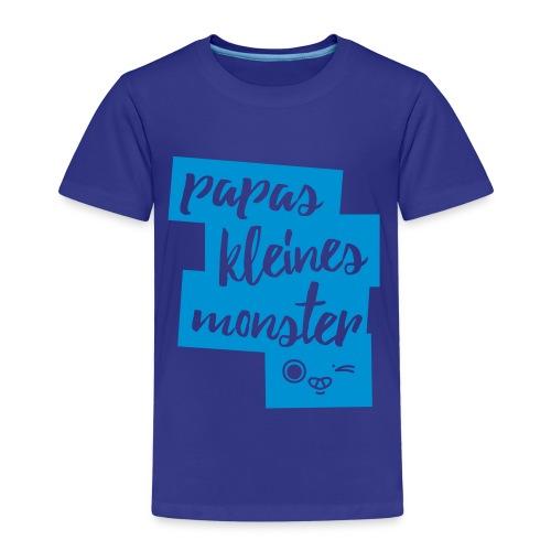 Papas Kleines Monster - Kinder Premium T-Shirt