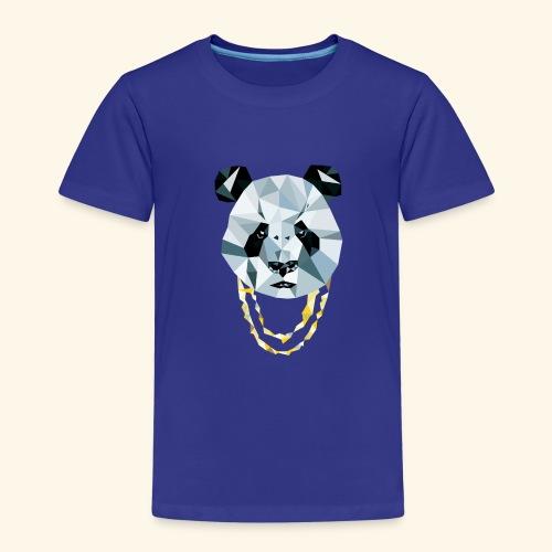 Panda 3D Polygon - Comic - Kinder Premium T-Shirt