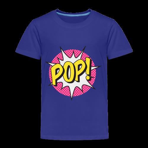 ONOMATOPOEIA. Pop - Kids' Premium T-Shirt