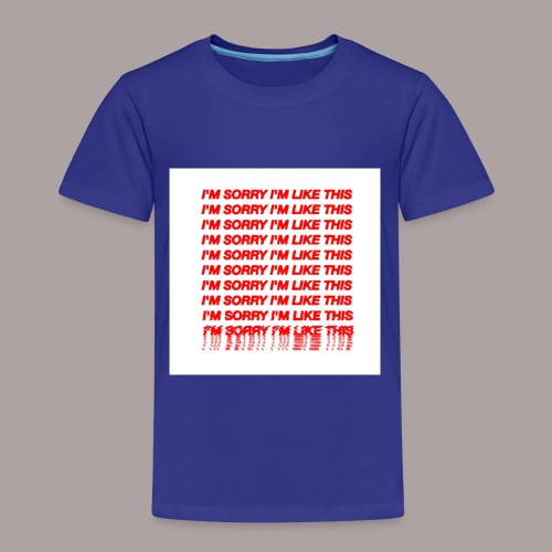13C670EF F2DE 4BDE A195 F0B0CFF4352F - Kinder Premium T-Shirt